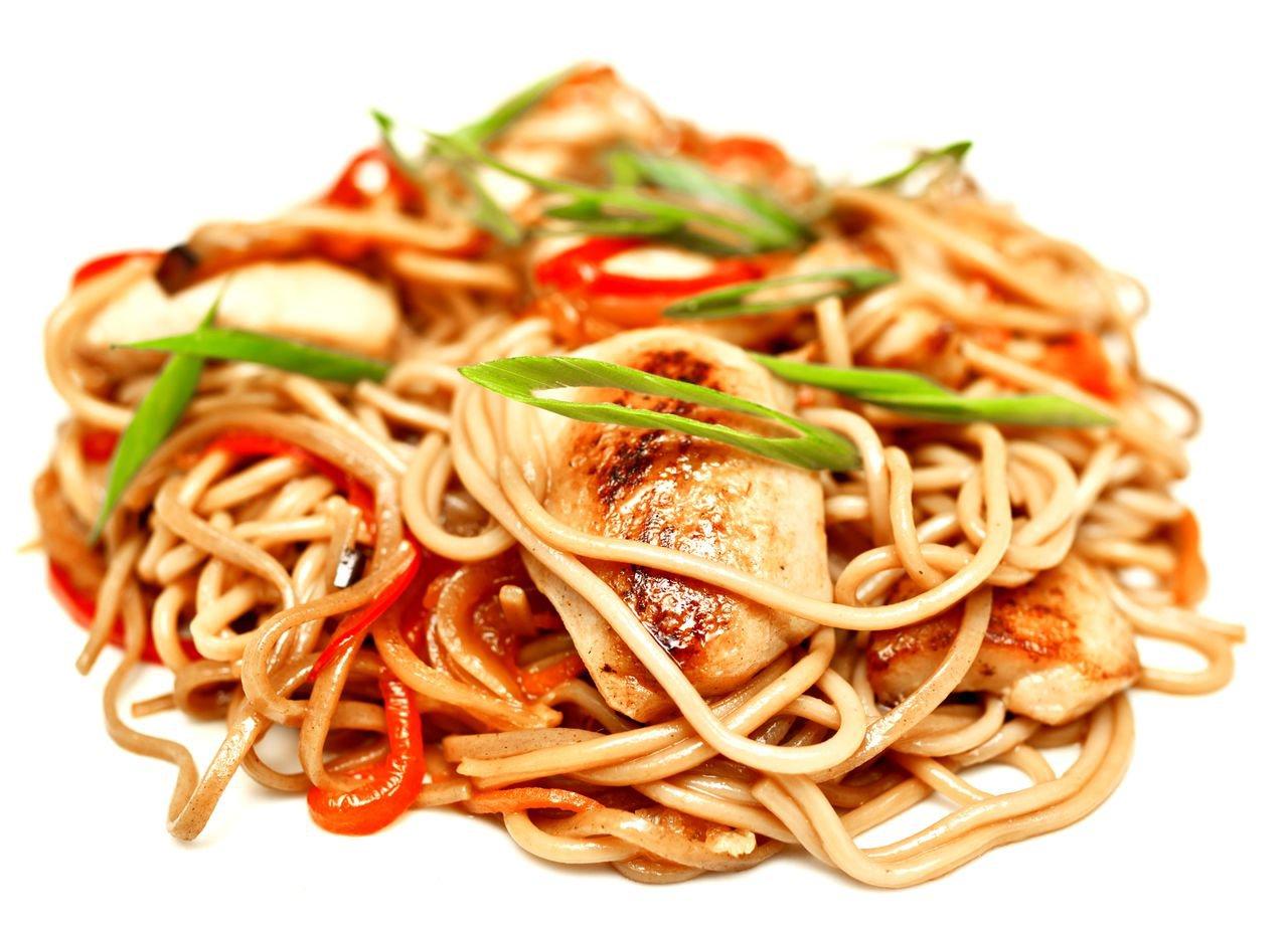Удон с курицей и овощами: рецепт с разными соусами и другими 45